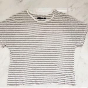 Rag & Bone linen striped t-shirt